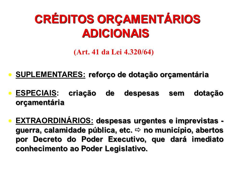Art. 165, §5º - A lei orçamentária anual compreenderá: I – o orçamento fiscal referente aos Poderes da União, seus fundos, órgãos e entidades da admin