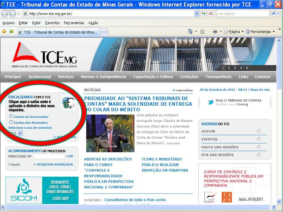O CONTROLE SOCIAL E A LEI DE RESPONSABILIDADE FISCAL A transparência da gestão fiscal (art.