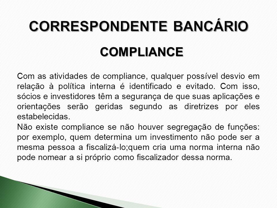 Com as atividades de compliance, qualquer possível desvio em relação à política interna é identificado e evitado. Com isso, sócios e investidores têm