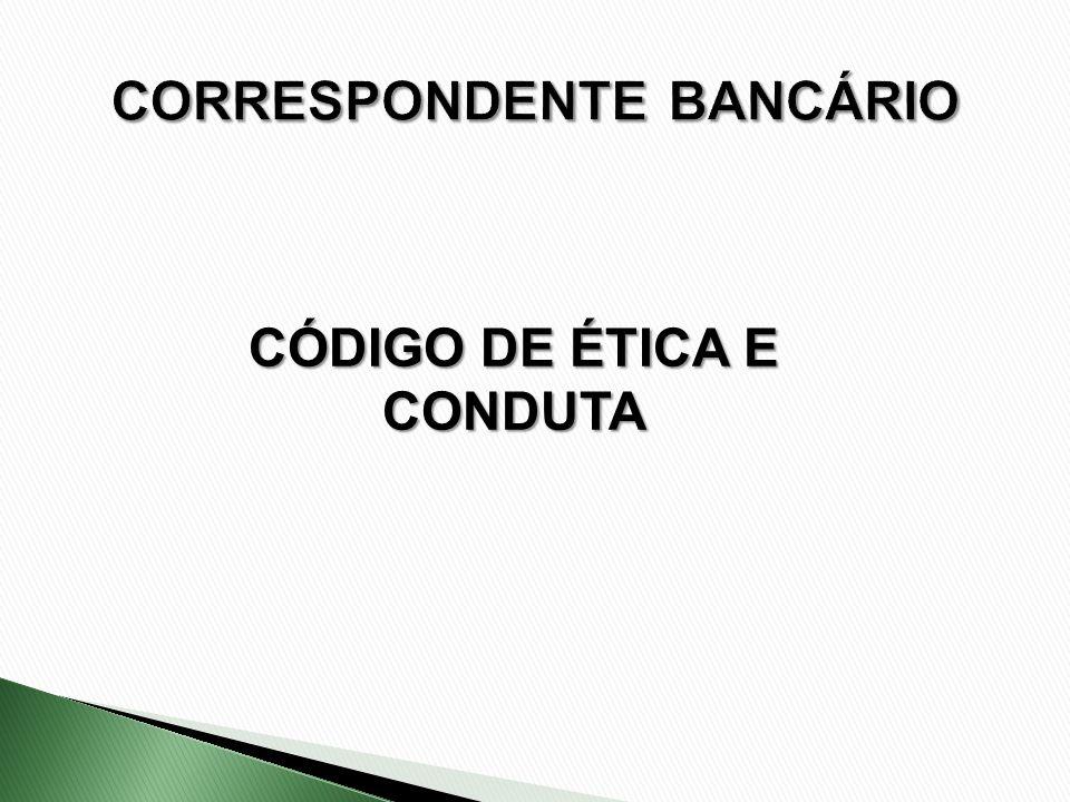 CÓDIGO DE ÉTICA E CONDUTA