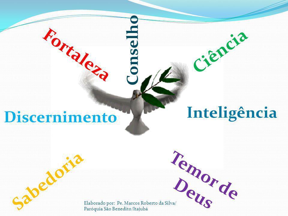 Discernimento Inteligência Conselho Fortaleza Temor de Deus Ciência Sabedoria Elaborado por: Pe. Marcos Roberto da Silva/ Paróquia São Benedito/Itajub