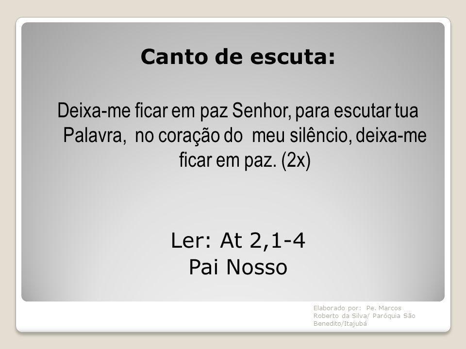 Para refletir: 1 – A devoção aos santos é comum em nosso meio.