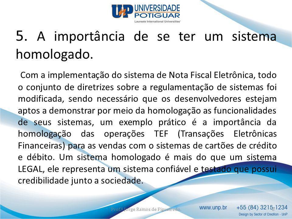 Com a implementação do sistema de Nota Fiscal Eletrônica, todo o conjunto de diretrizes sobre a regulamentação de sistemas foi modificada, sendo neces