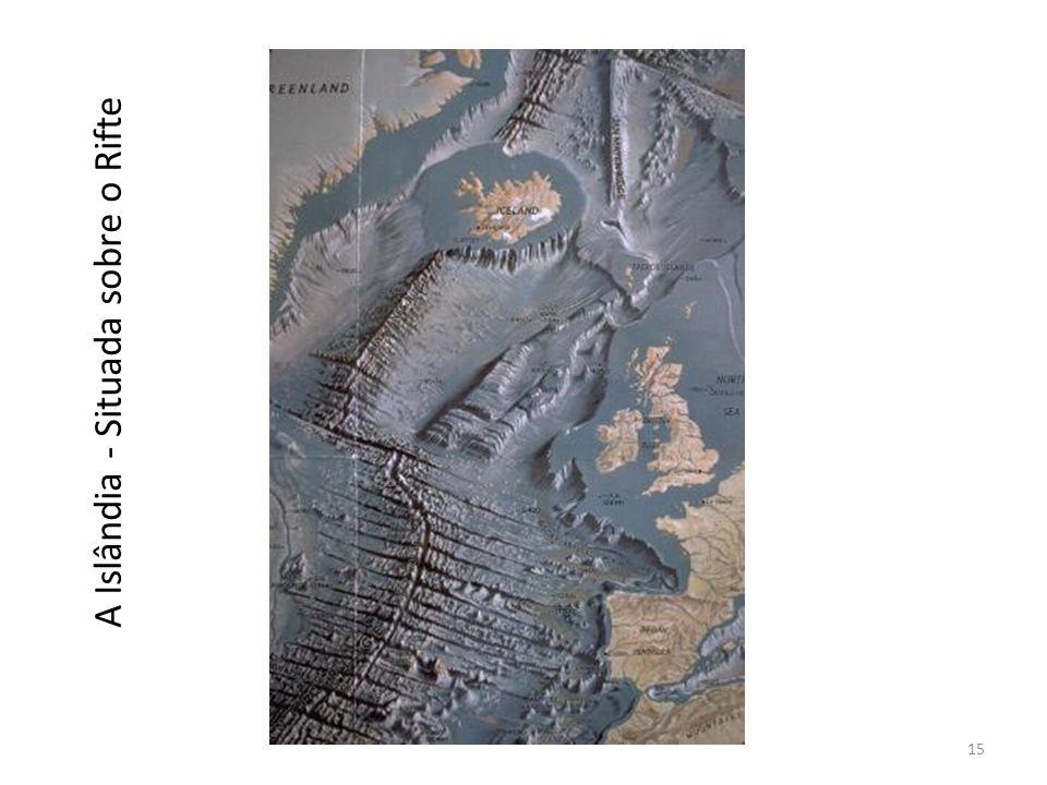 A Islândia - Situada sobre o Rifte 15