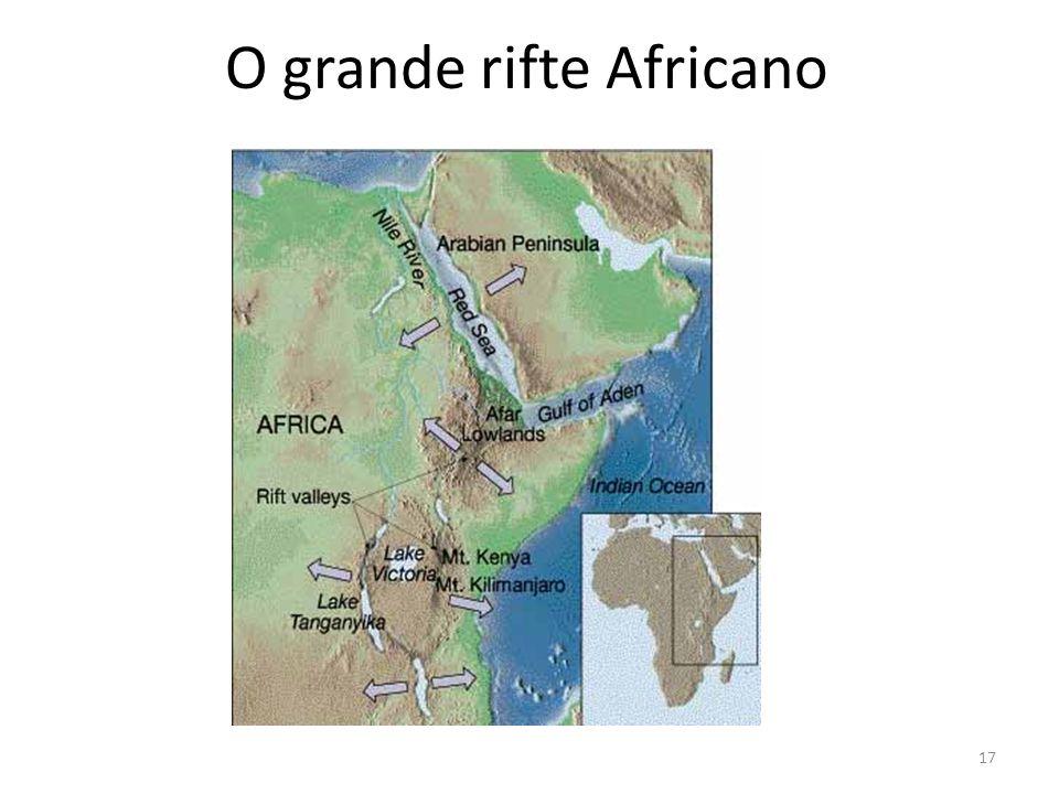 O grande rifte Africano 17