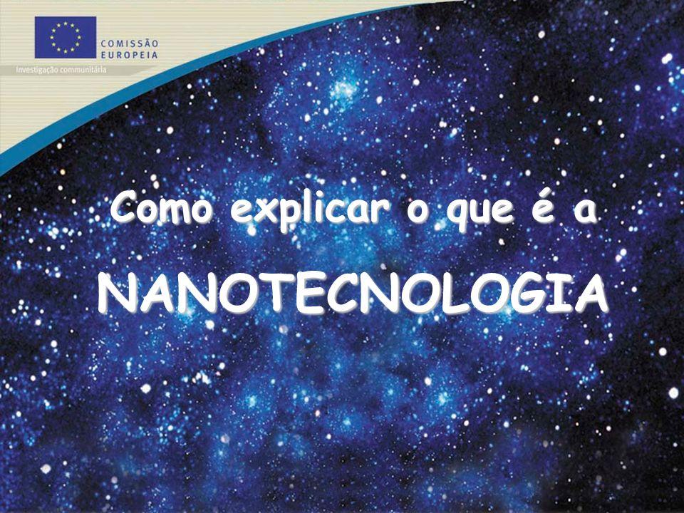 Como explicar o que é a NANOTECNOLOGIA