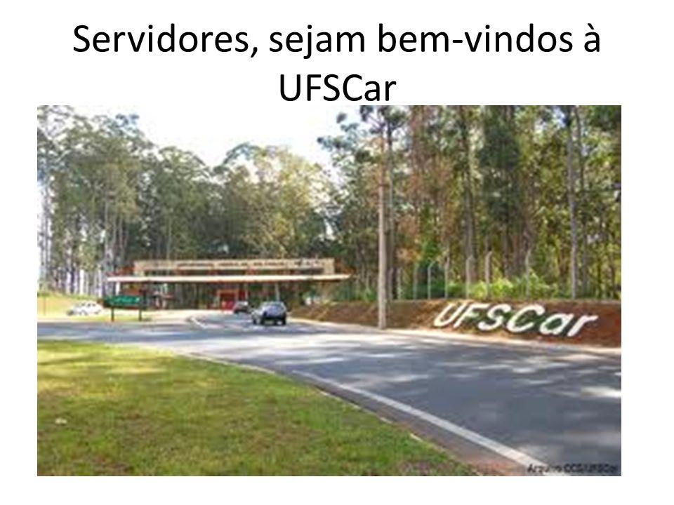 Servidores, sejam bem-vindos à UFSCar
