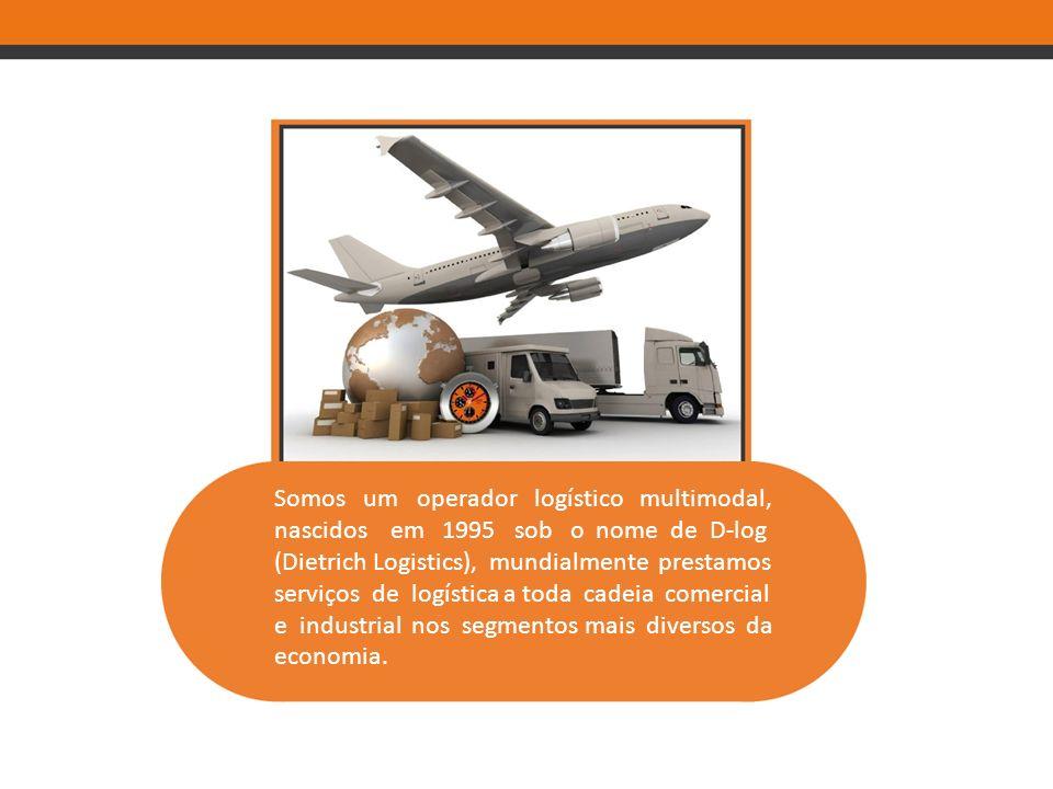 Somos um operador logístico multimodal, nascidos em 1995 sob o nome de D-log (Dietrich Logistics), mundialmente prestamos serviços de logística a toda