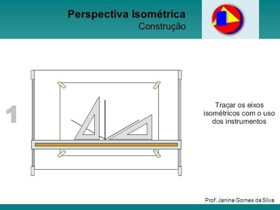 Perspectiva Isométrica Construção