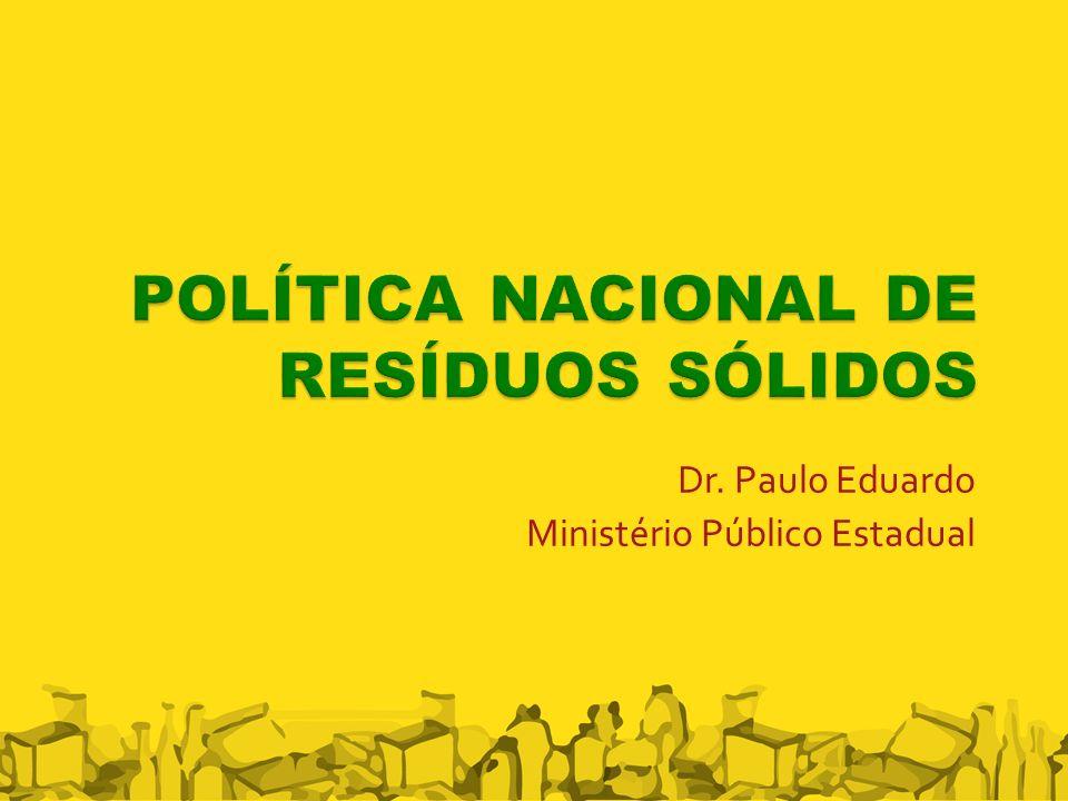Dr. Paulo Eduardo Ministério Público Estadual