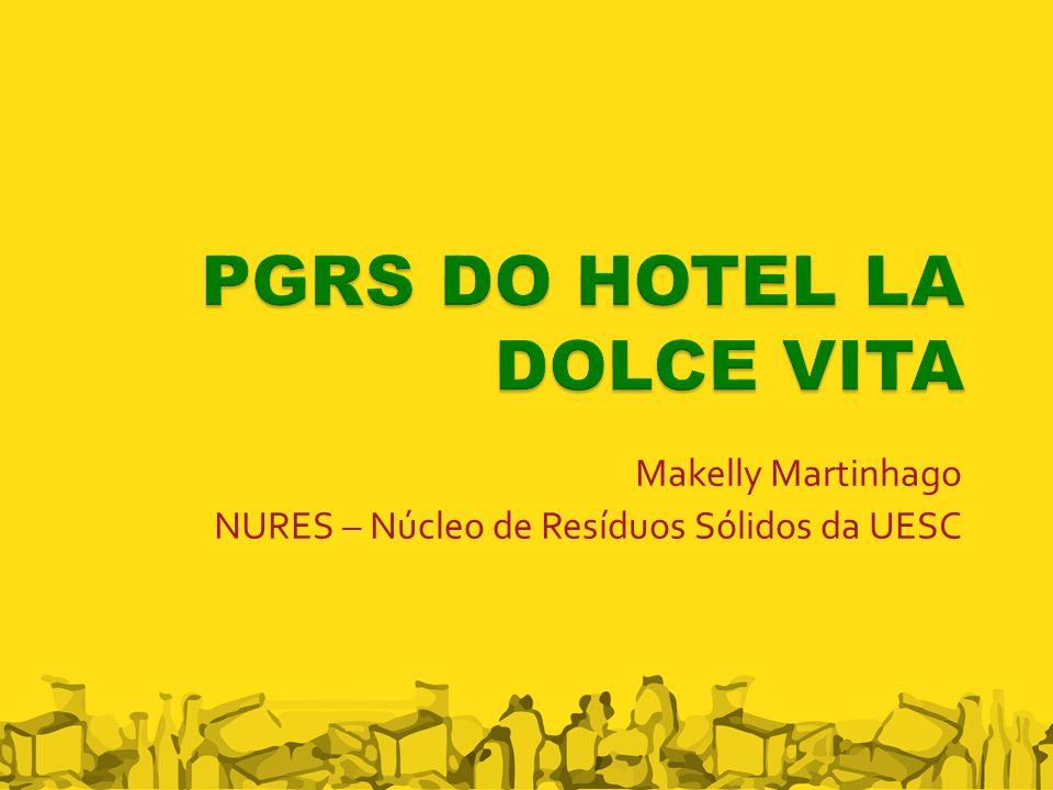 Makelly Martinhago NURES – Núcleo de Resíduos Sólidos da UESC