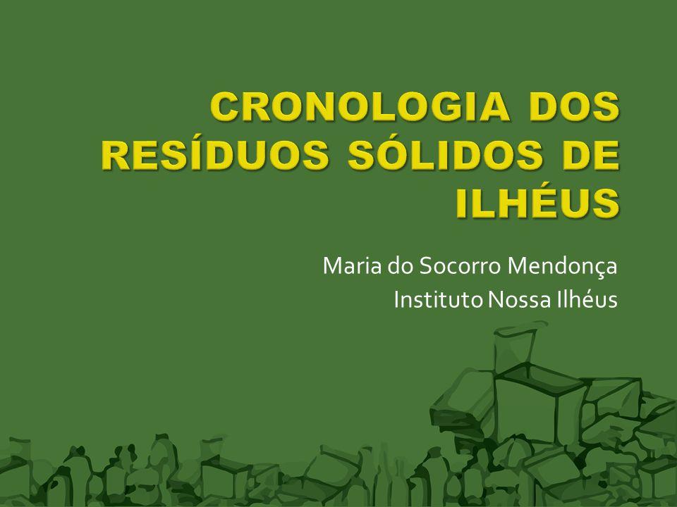 Maria do Socorro Mendonça Instituto Nossa Ilhéus