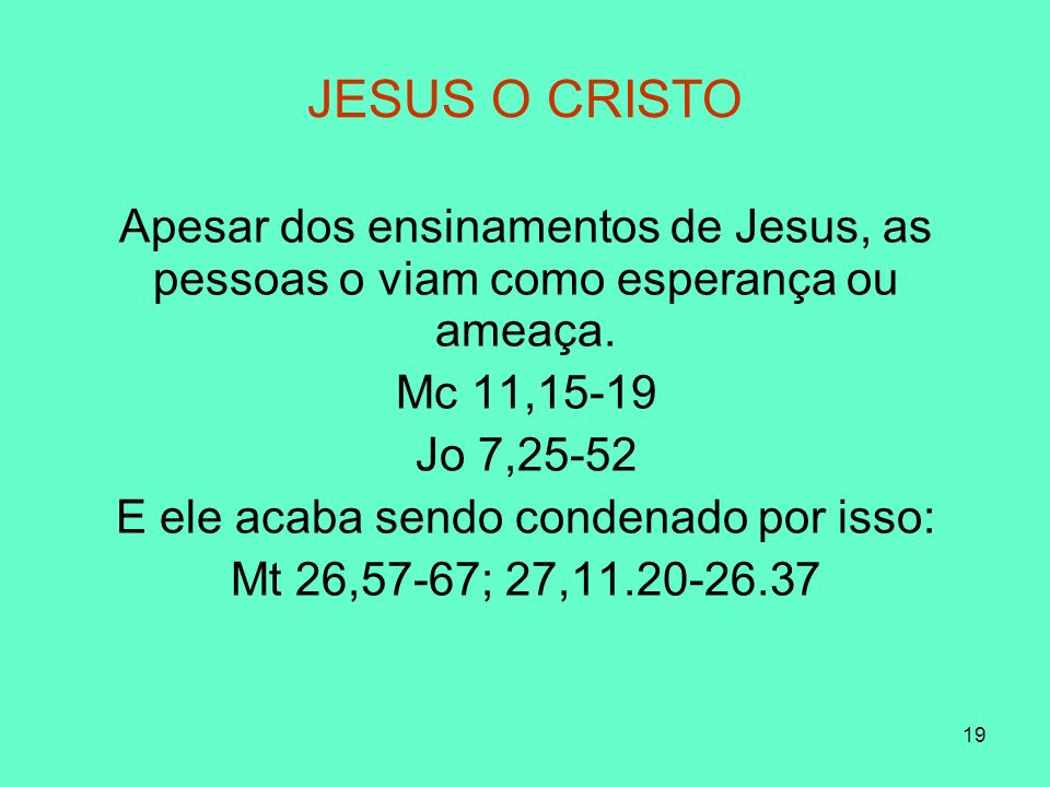 20 JESUS, O CRISTO ? CRUZFRACASSO (GOYA)