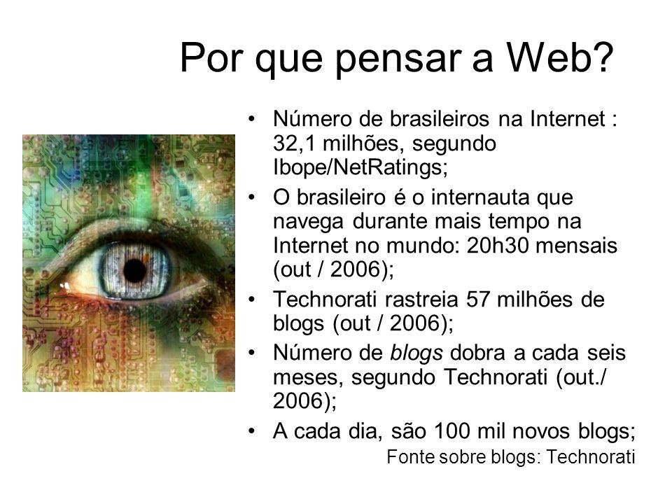 Por que pensar a Web.