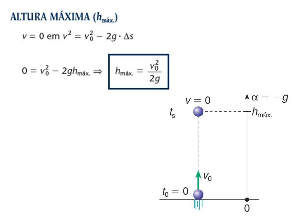(UEL-PR) Um corpo é lançado para cima, com velocidade inicial de 50 m/s, numa direção que forma um ângulo de 60° com a horizontal (dados: sen 60° = 0,87; cos 60° = 0,50; g = 10 m/s 2 ).