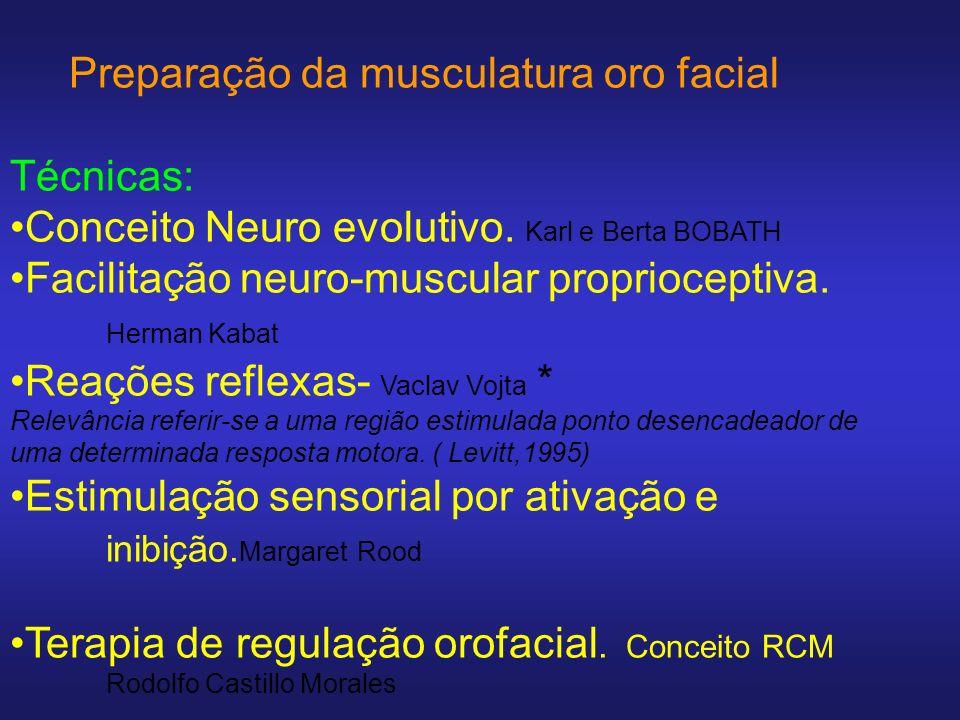 Conceito Castillo- Morales Terapia de Regulação Oro Facial Por apresentar uma fundamentação mais ampla e conexa da neurofisiologia.