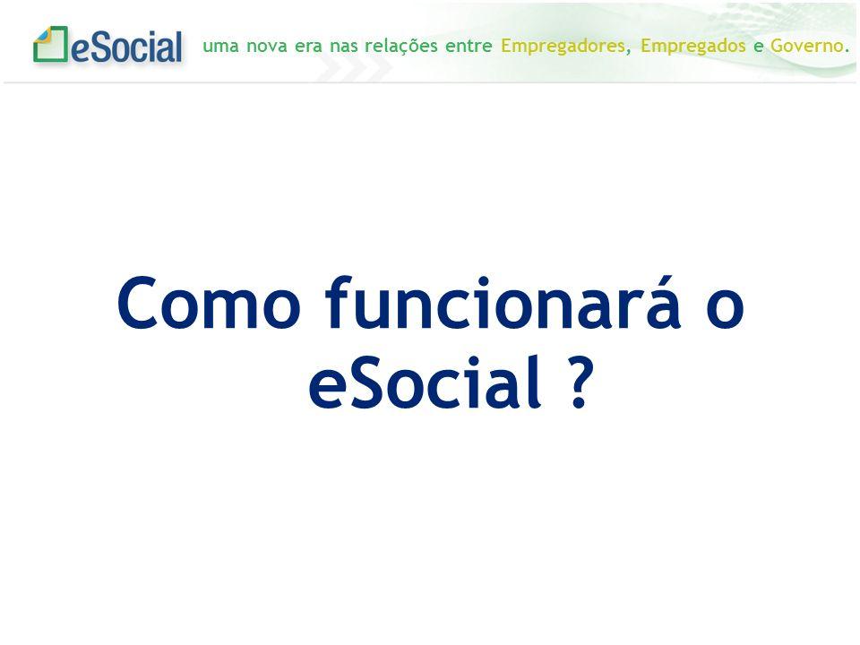 uma nova era nas relações entre Empregadores, Empregados e Governo. Como funcionará o eSocial ?