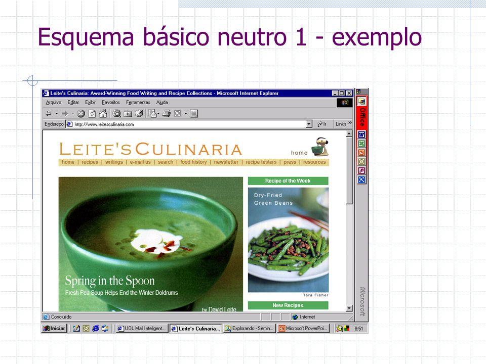 Esquema básico neutro 1 - exemplo