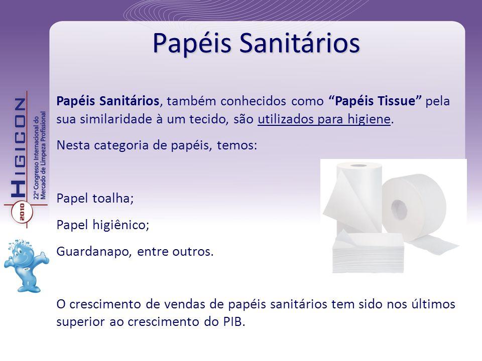 Papéis Sanitários, também conhecidos como Papéis Tissue pela sua similaridade à um tecido, são utilizados para higiene. Nesta categoria de papéis, tem