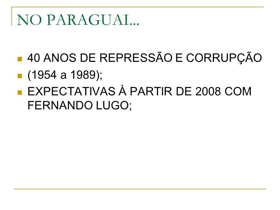 NO PARAGUAI...