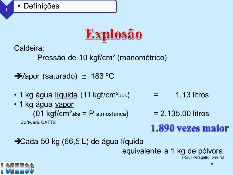 47 Diminuição da espessura do material Corrosão Interna - Aeração Diferencial Corrosão nos tubos superiores devido à diferença de concentração de oxigênio na água - Salinas Concentrações elevadas de cloretos - Fragilidade Caustica Soda cáustica (hidróxido de sódio) acima de 5% 2 Causas dos Riscos Operação Manutenção Tratamento da água Procedimentos Processos