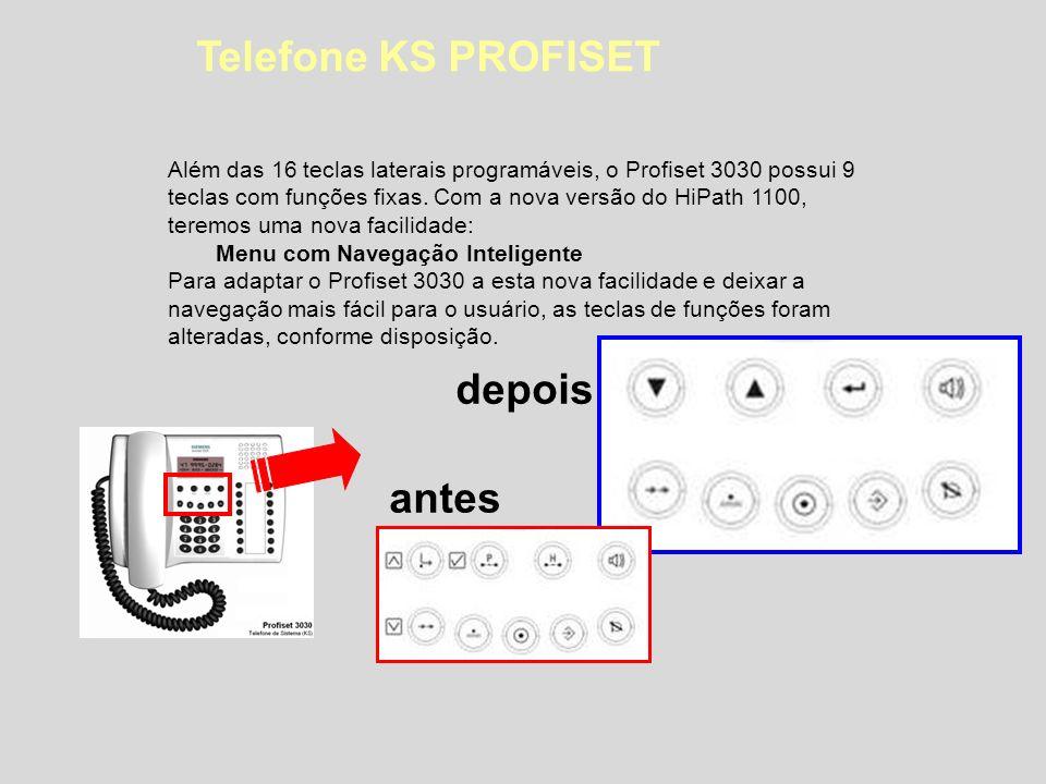 OptiPoint 500 - Entry Características: 8 teclas de função com LEDs Alta Voz 2 teclas de ajuste (+/-) Suporte de parede Cor: gelo Workpoint Digital TERMINAIS DIGITAIS Disponível a partir da V6.0