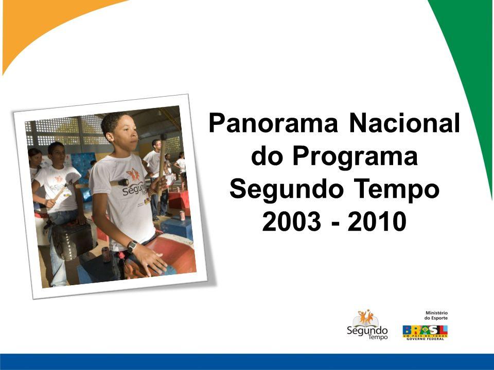 Panorama Nacional do Programa Segundo Tempo 2003 - 2010
