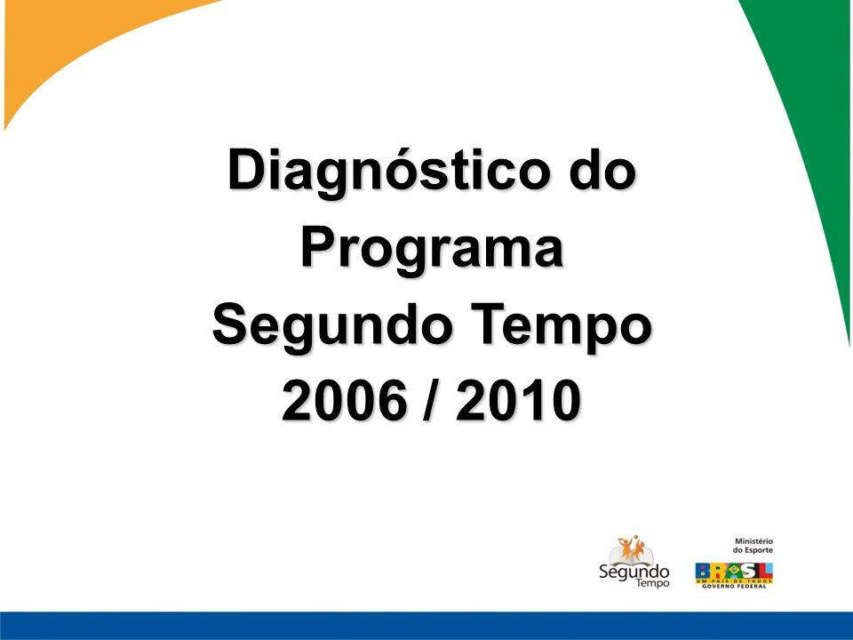 Diagnóstico do Programa Segundo Tempo 2006 / 2010