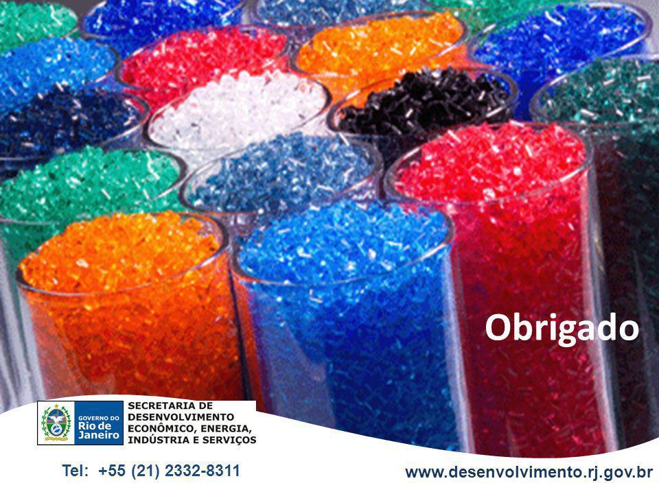 Obrigado www.desenvolvimento.rj.gov.br Tel: +55 (21) 2332-8311