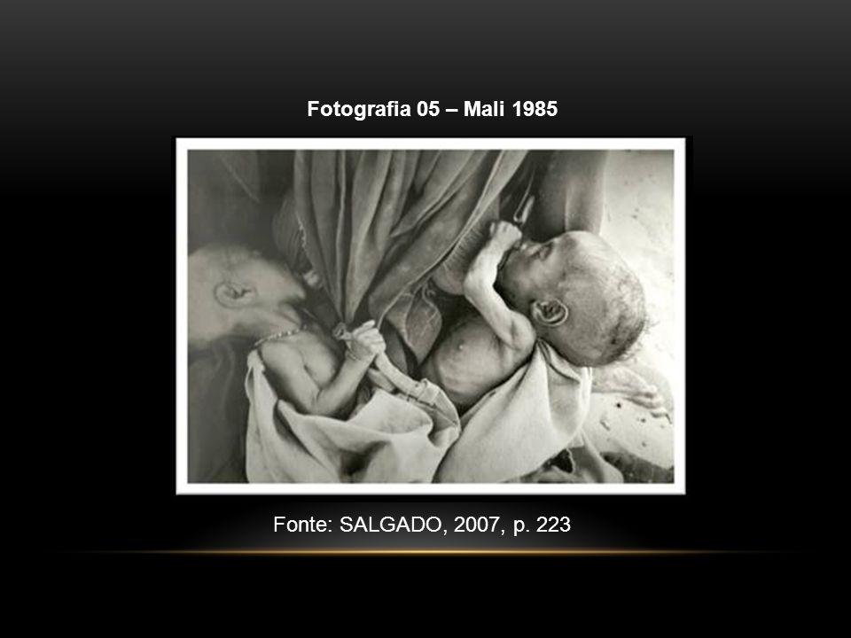 Fotografia 05 – Mali 1985 Fonte: SALGADO, 2007, p. 223