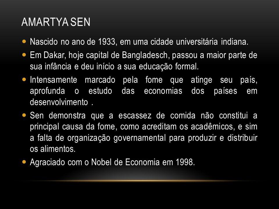 REFERÊNCIAS AMARTYA SEN.Disponível em: <http://www.algosobre.com.br/biografias/amartya-sen.html.