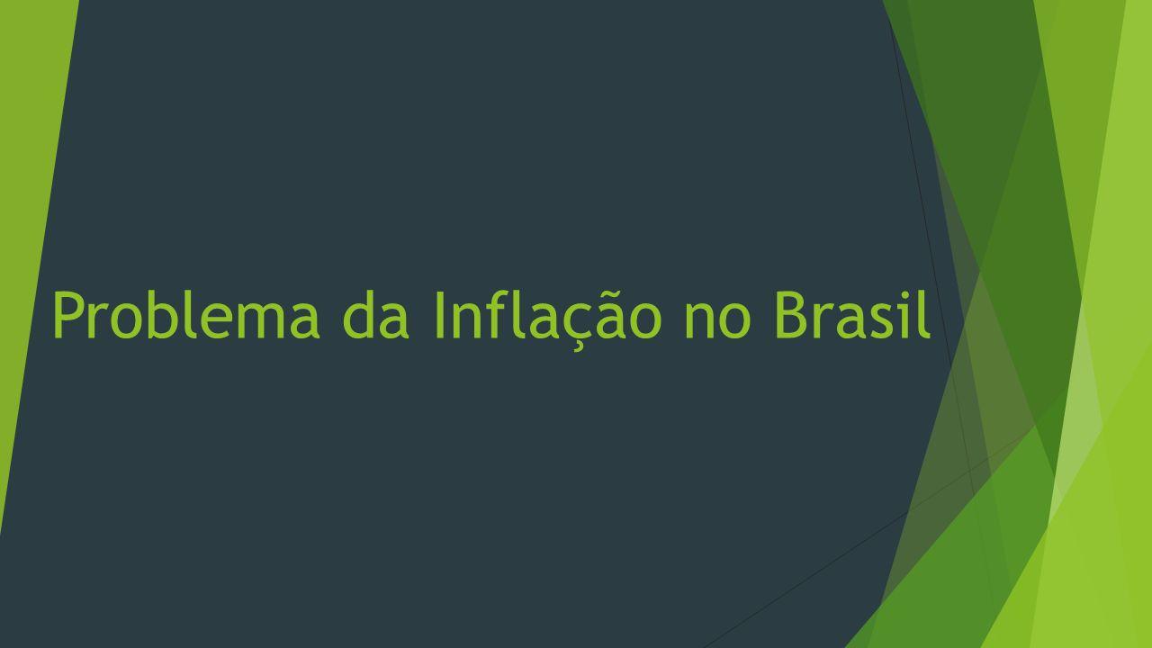 Problema da Inflação no Brasil
