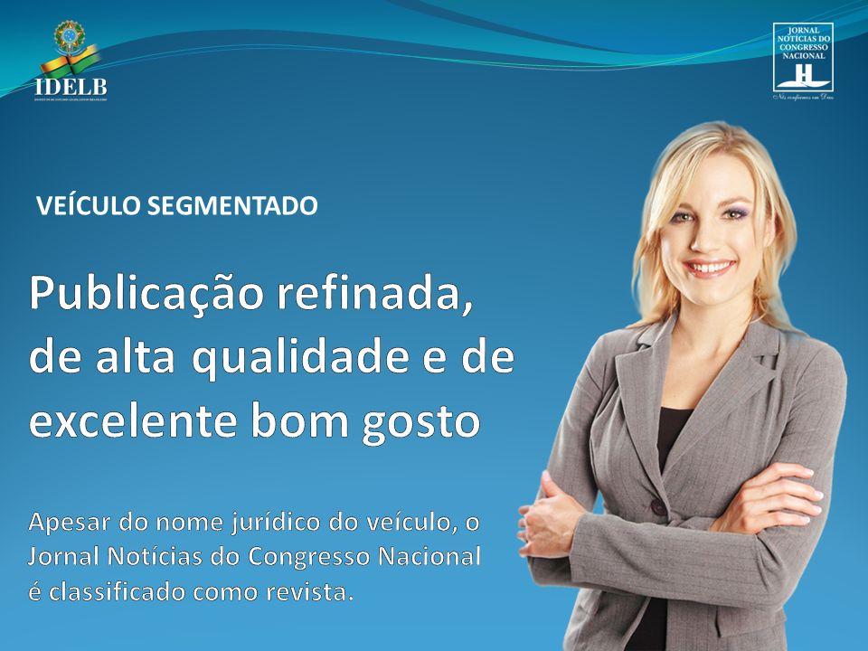 O Jornal Notícias do Congresso Nacional é o órgão oficial de comunicação social do Instituto de Estudos Legislativos Brasileiro – IDELB que tem a responsabilidade institucional de divulgar as ações praticadas pelos poderes da República Federativa do Brasil.