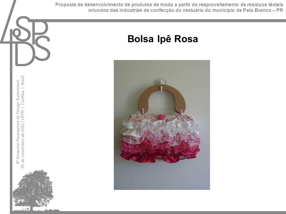 Bolsa Ipê Rosa