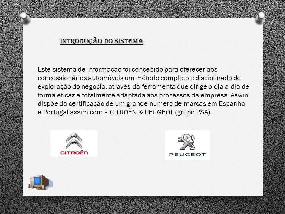 Módulo Armazém Novo sistema de reserva de peças: A partir de marcação da Agenda A partir de ordem de Reparação A partir do pedido de cliente