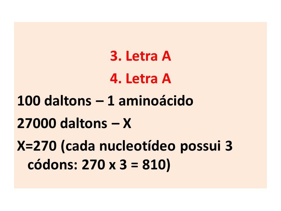 3.Letra A 4.