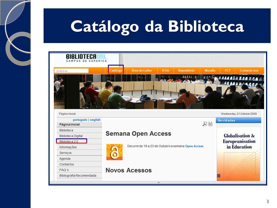 Catálogo da Biblioteca 3