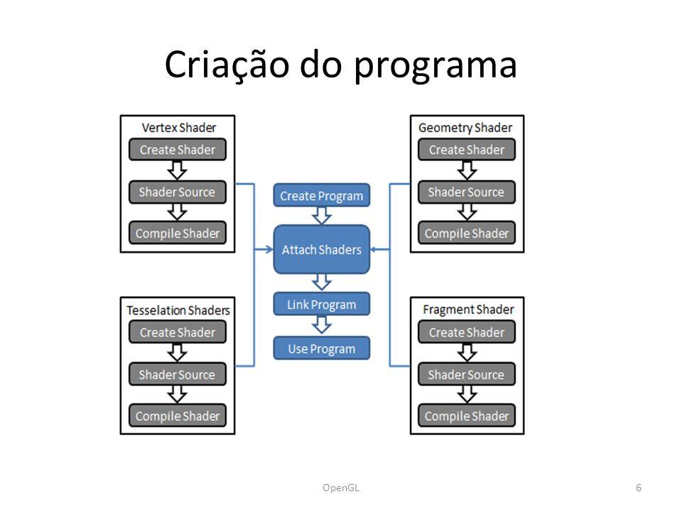 Criação do programa OpenGL6