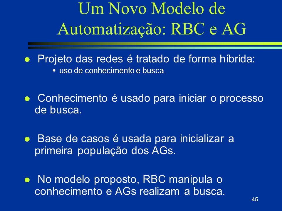 Aplicações de RBC - [Prudêncio 2002] Módulo PROC Transforma uma série temporal não estacionária em uma série estacionária, ou seja, que não apresentam