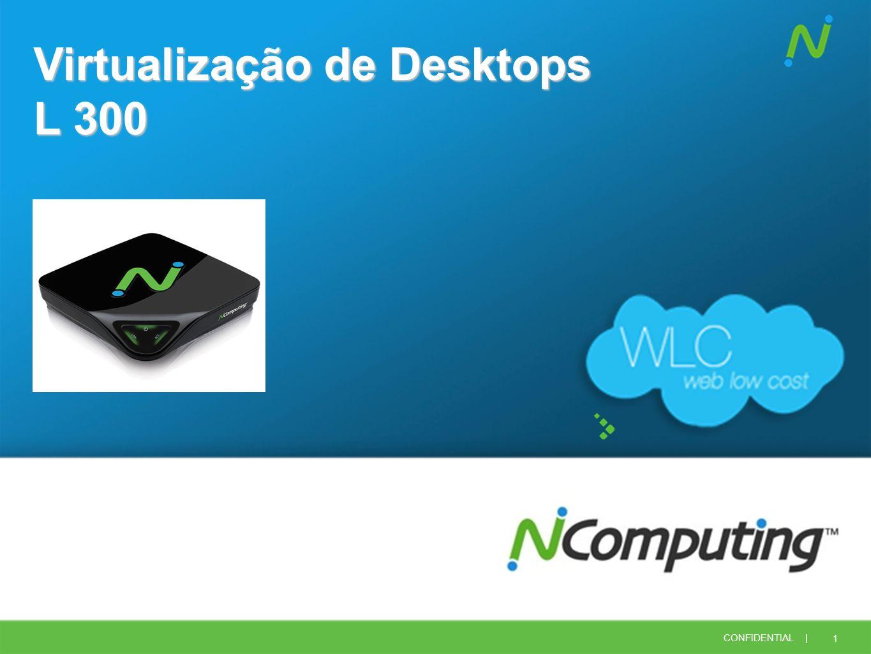 1 CONFIDENTIAL | Virtualização de Desktops L 300