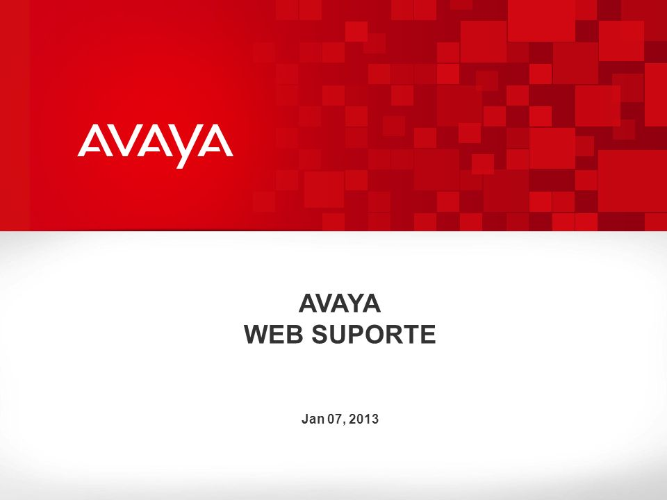 © 2010 Avaya Inc.All rights reserved. 22 ENTRE COM O SR# E CLICK ENTER.