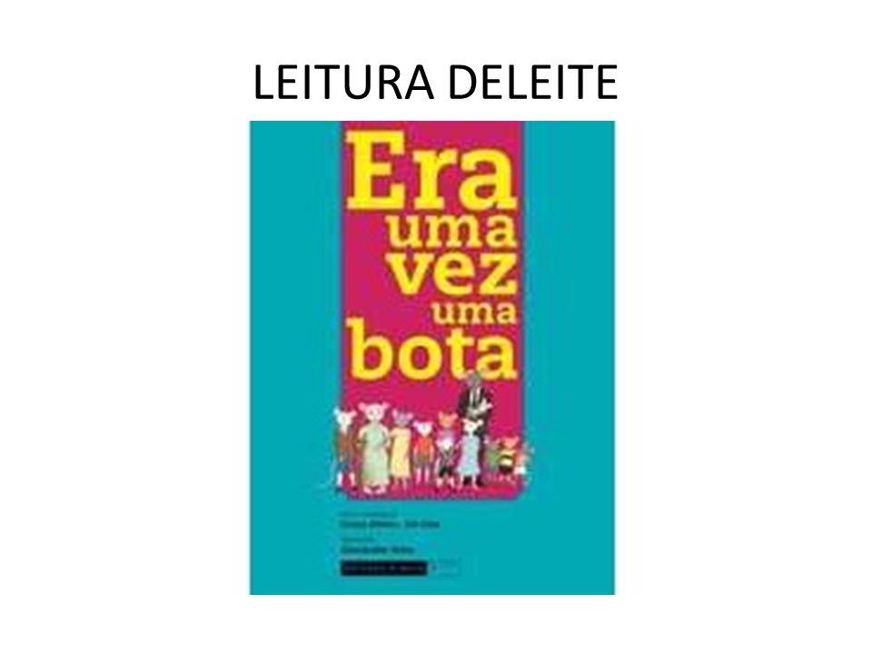 LEITURA DELEITE