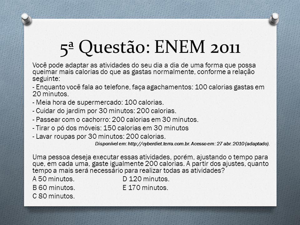 6ª Questão: ENEM 2011 Observe as dicas para calcular a quantidade certa de alimentos e bebidas para as festas de fim de ano: O Para o prato principal, estime 250 gramas de carne para cada pessoa.