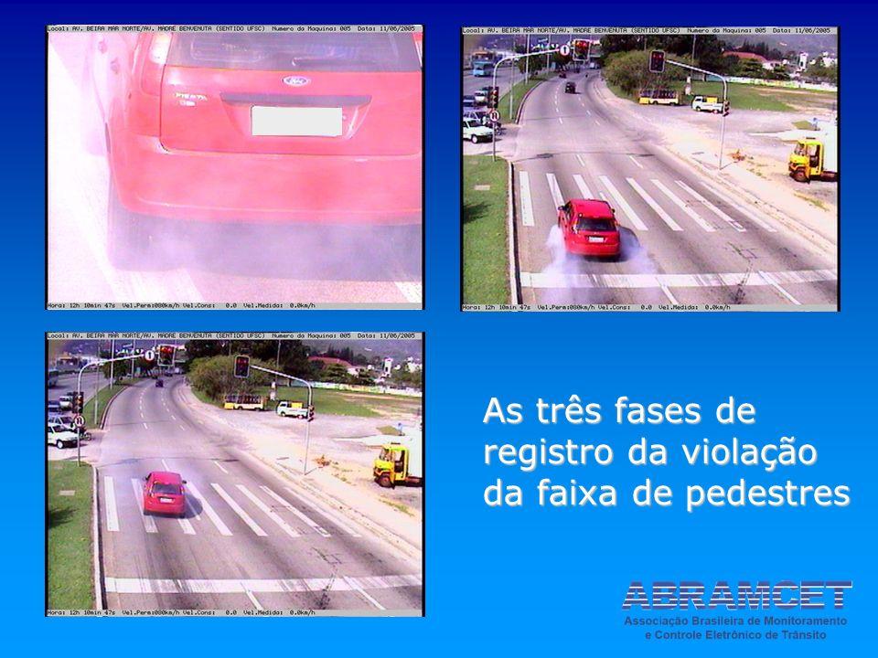 EGB 2007 As três fases de registro da violação da faixa de pedestres