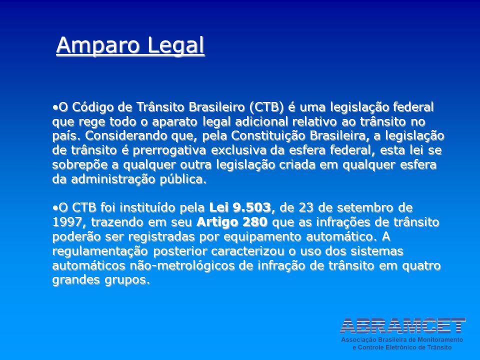 O Código de Trânsito Brasileiro (CTB) é uma legislação federal que rege todo o aparato legal adicional relativo ao trânsito no país. Considerando que,