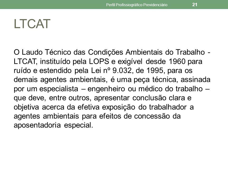 Em regra, o LTCAT é individual.