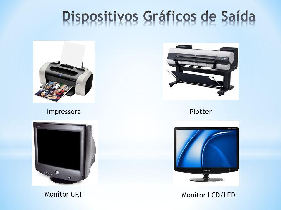 ImpressoraPlotter Monitor CRT Monitor LCD/LED
