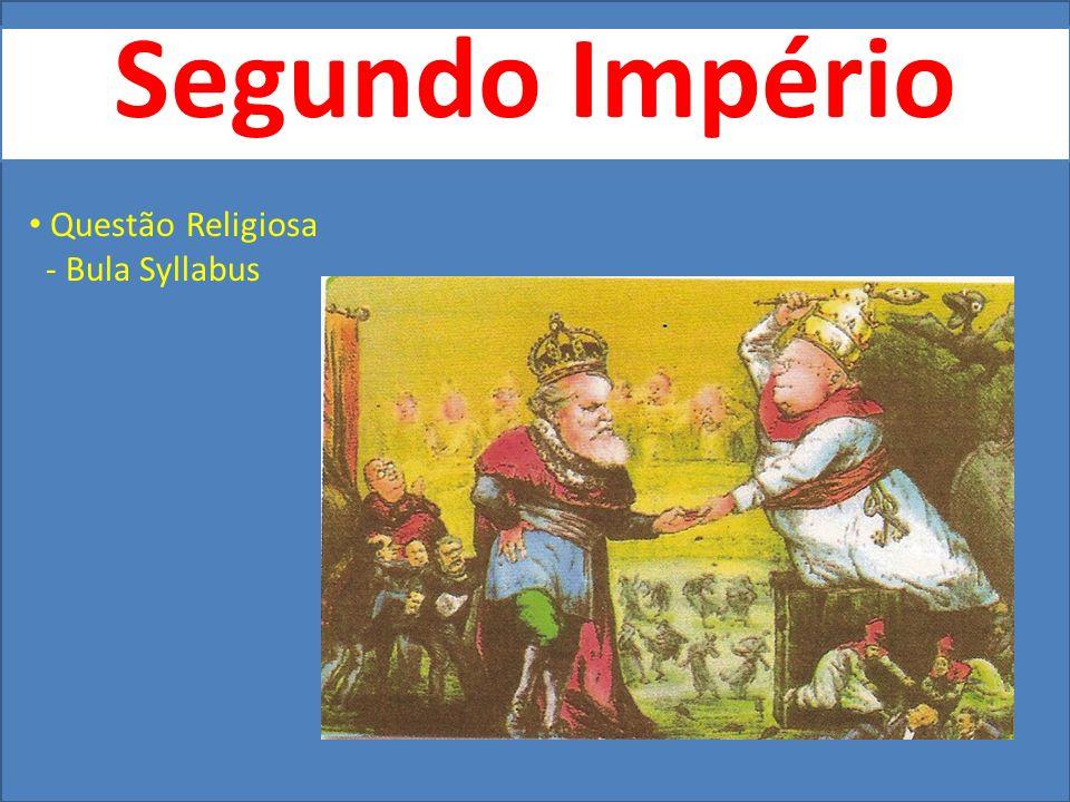 Segundo Império Questão Religiosa - Bula Syllabus
