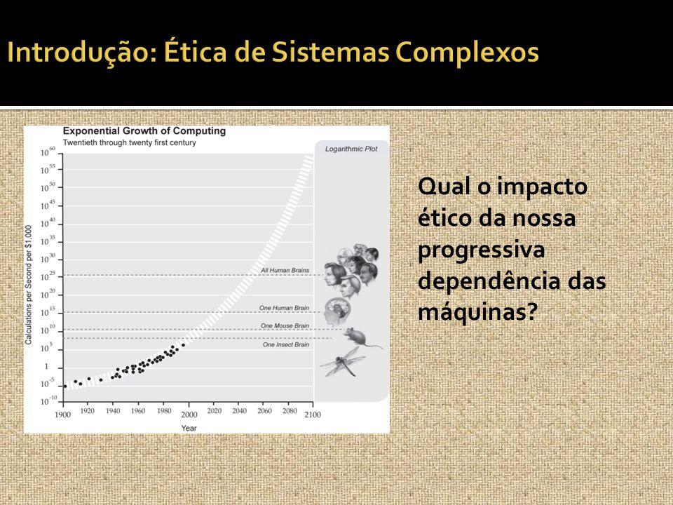 Qual o impacto ético da nossa progressiva dependência das máquinas?