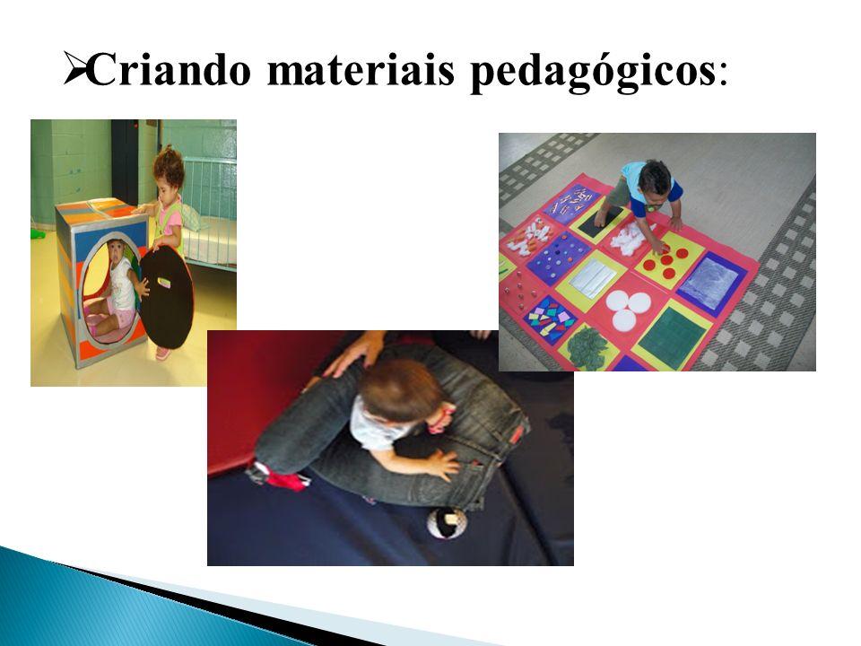 Criando materiais pedagógicos: